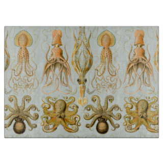 Ernst Haeckel's Gamochonia Cutting Boards