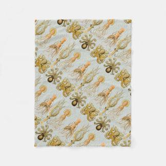 Ernst Haeckel's Gamochonia Fleece Blanket