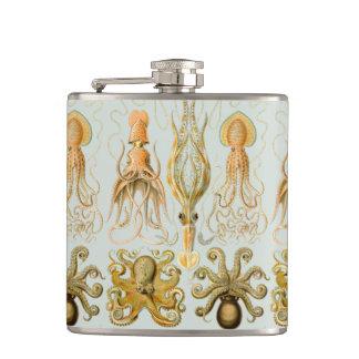 Ernst Haeckel's Gamochonia Hip Flask
