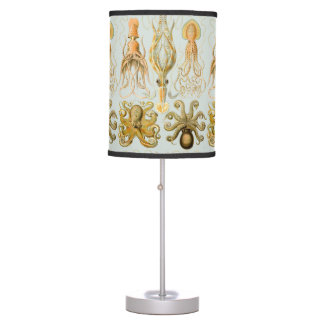 Ernst Haeckel's Gamochonia Table Lamps