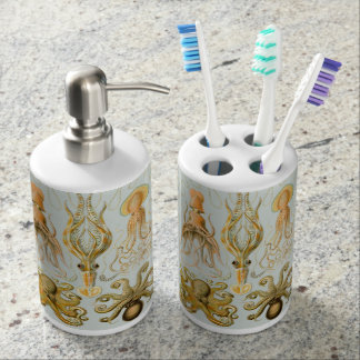 Ernst Haeckel's Gamochonia Soap Dispensers