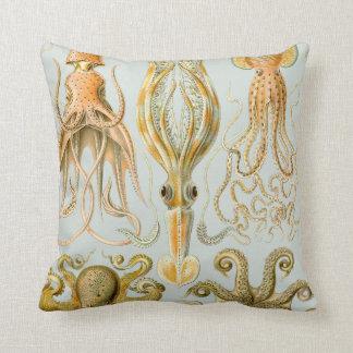 Ernst Haeckel's Gamochonia Throw Pillow