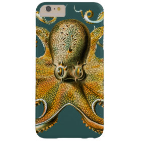 Ernst Haeckel's Octopus Barely There iPhone 6 Plus Case