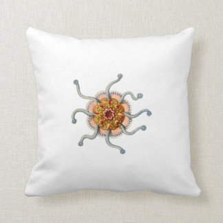 Ernst Haeckel Siphonophorae (4)  two sided pillow