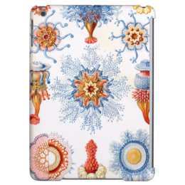Ernst Haeckel Siphonophorae jellyfish bluebottle! iPad Air Covers