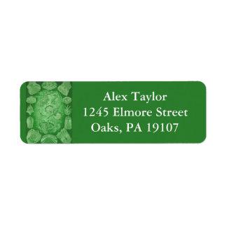 Ernst Haeckel Teleostei Return Address Label