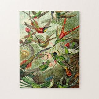 Ernst Haeckel Trochilidae Hummingbird Jigsaw Puzzle