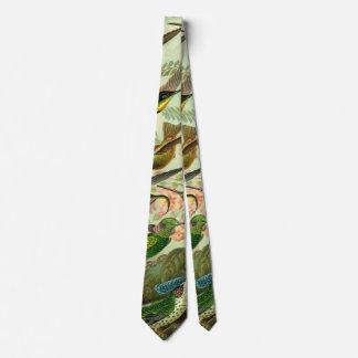 Ernst Haeckel Trochilidae Hummingbird Tie