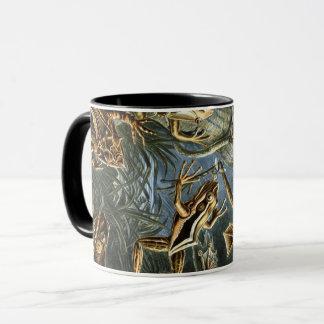 Ernst Haeckel variety of exotic frogs:Batrachia Mug