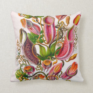 Ernst Haeckel Venus Fly Trap two sided pillow