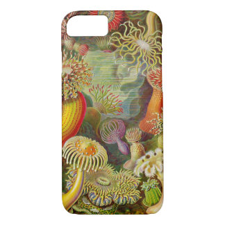 Ernst Haeckel's Actinae Ocean Life iPhone 8/7 Case