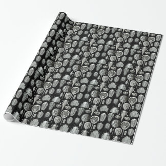 Ernst Haeckel's Aspidonia Wrapping Paper