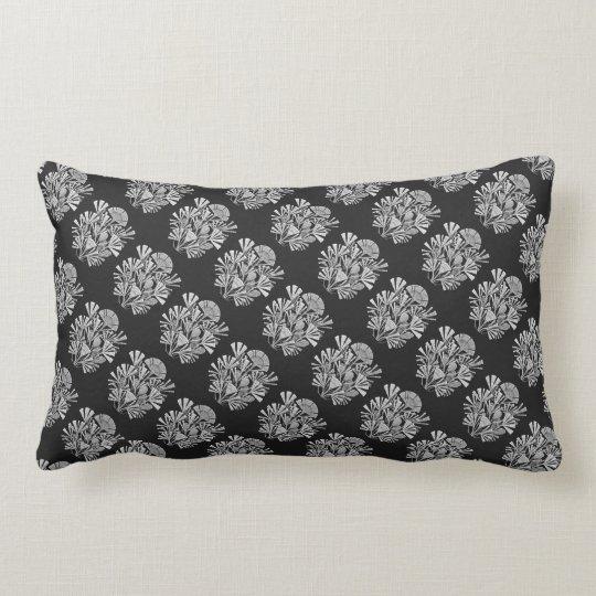 Ernst Haeckel's Diatomea Lumbar Pillow