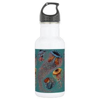 Ernst Haeckel's Disco Medusae Water Bottle