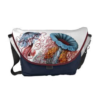 Ernst Haeckel's Discomedusea Courier Bag
