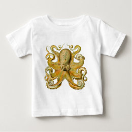 Ernst Haeckel's Octopus Baby T-Shirt
