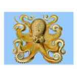 Ernst Haeckel's Octopus Post Card