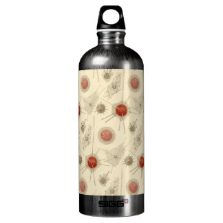Ernst Haeckel's Radiolarian Aluminum Water Bottle