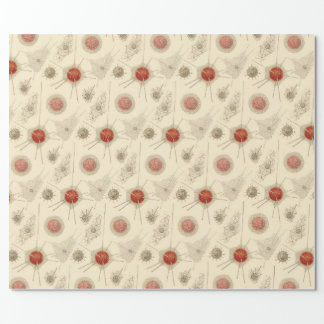 Ernst Haeckel's Radiolarian Wrapping Paper