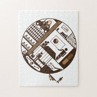Ernst Jünger Escape Jigsaw Puzzle