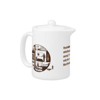 Ernst Jünger Escape Teapot