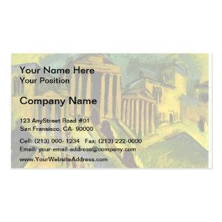Ernst Ludwig Kirchner- Brandenburg Gate in Berlin Business Card
