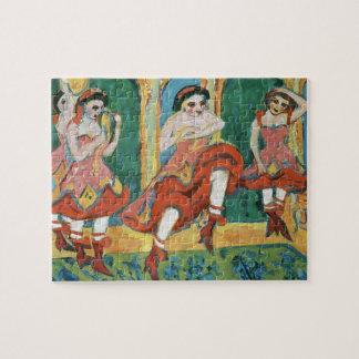 Ernst Ludwig Kirchner- Czardas Dancers Jigsaw Puzzles