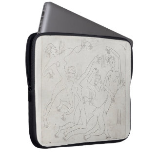 Ernst Ludwig Kirchner: Dance Shool Laptop Sleeves