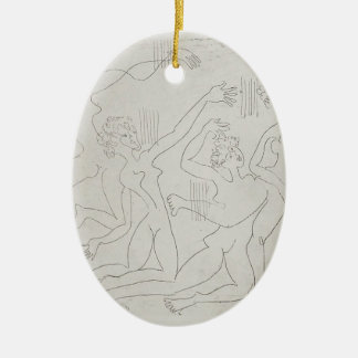 Ernst Ludwig Kirchner: Dance Shool Christmas Ornaments