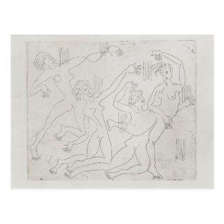 Ernst Ludwig Kirchner: Dance Shool Post Card