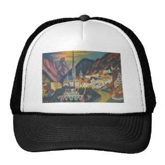 Ernst Ludwig Kirchner- Davos in Summer Trucker Hat
