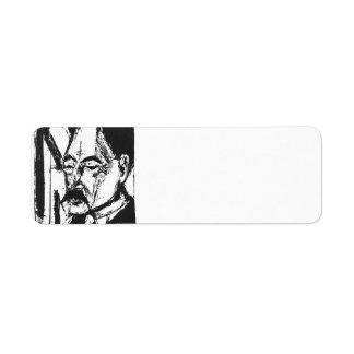 Ernst Ludwig Kirchner: Dr. O. Kohnstamm Return Address Label