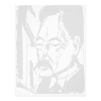 Ernst Ludwig Kirchner: Dr. O. Kohnstamm Letterhead Template