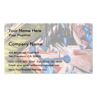 Ernst Ludwig Kirchner- Frankfurter Westhafen Business Card