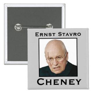 Ernst Stavro Cheney Button