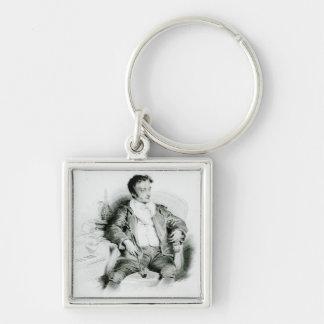 Ernst Theodor Amadeus Hoffmann Key Chains