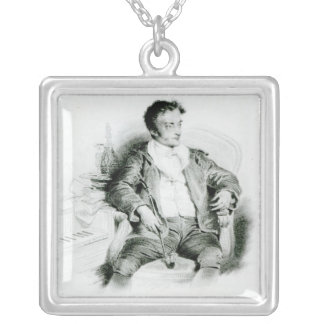 Ernst Theodor Amadeus Hoffmann Silver Plated Necklace