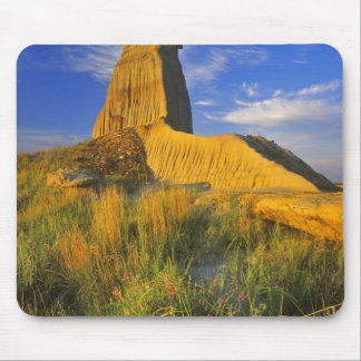 Eroded Monument in the Little Missouri Mouse Pad