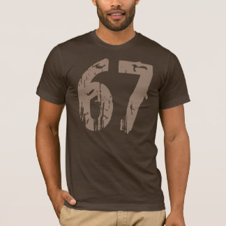Eroded Style Number 67 T-Shirt