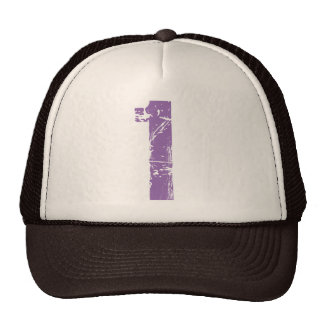 Eroded Style Number One Trucker Hat