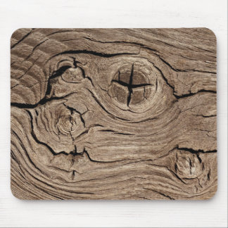 Eroded Wood Grain Mouse Pad