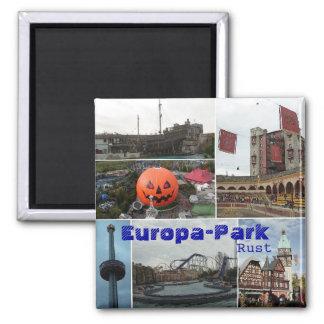 EropaPark, Europa-Parque, moho Imán Cuadrado
