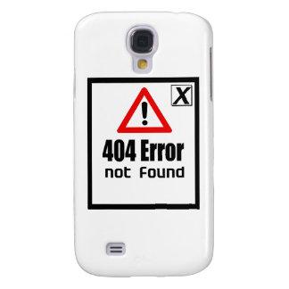 erorr 404 no encontrado funda para galaxy s4