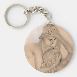 Eros and Psyche Keychain
