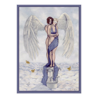 Eros And Psyche Poster