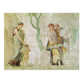 Eros being punished in the presence of Aphrodite Postcard