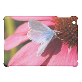 eros blue on pink flower cover for the iPad mini