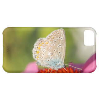 eros blue with closed wings iPhone 5C case