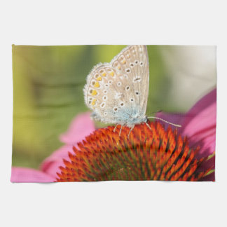 eros blue with closed wings kitchen towels