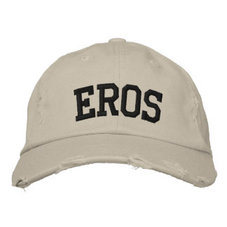 Eros Embroidered Hat